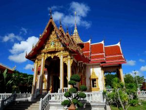Wat Chalong - one of the temples