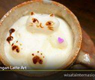 Kafe Dengan Latte Art