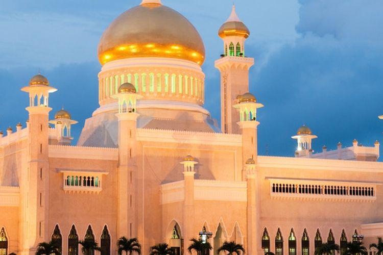 4. Wisata Brunei Istana Nurul Iman