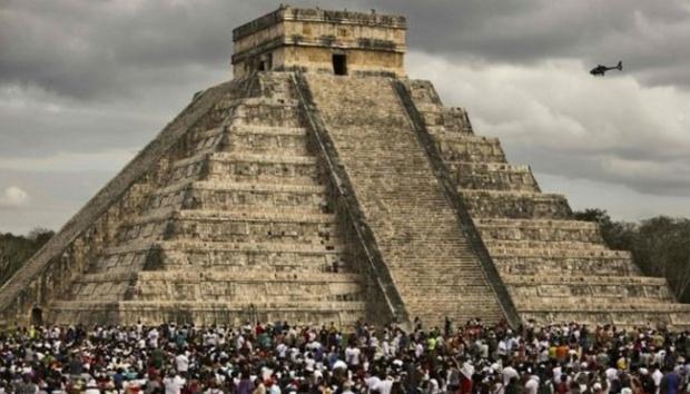 Piramida Kulkulkan Meksiko